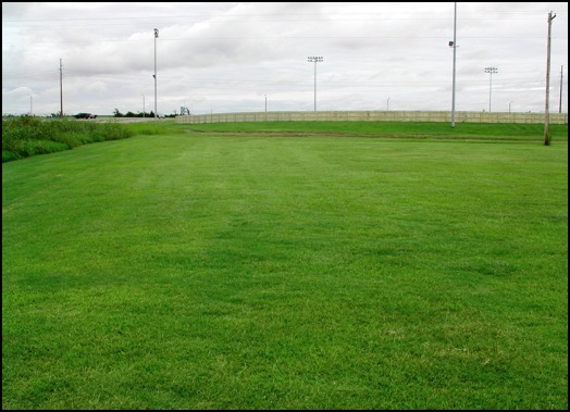 Practice field after Turf2Max